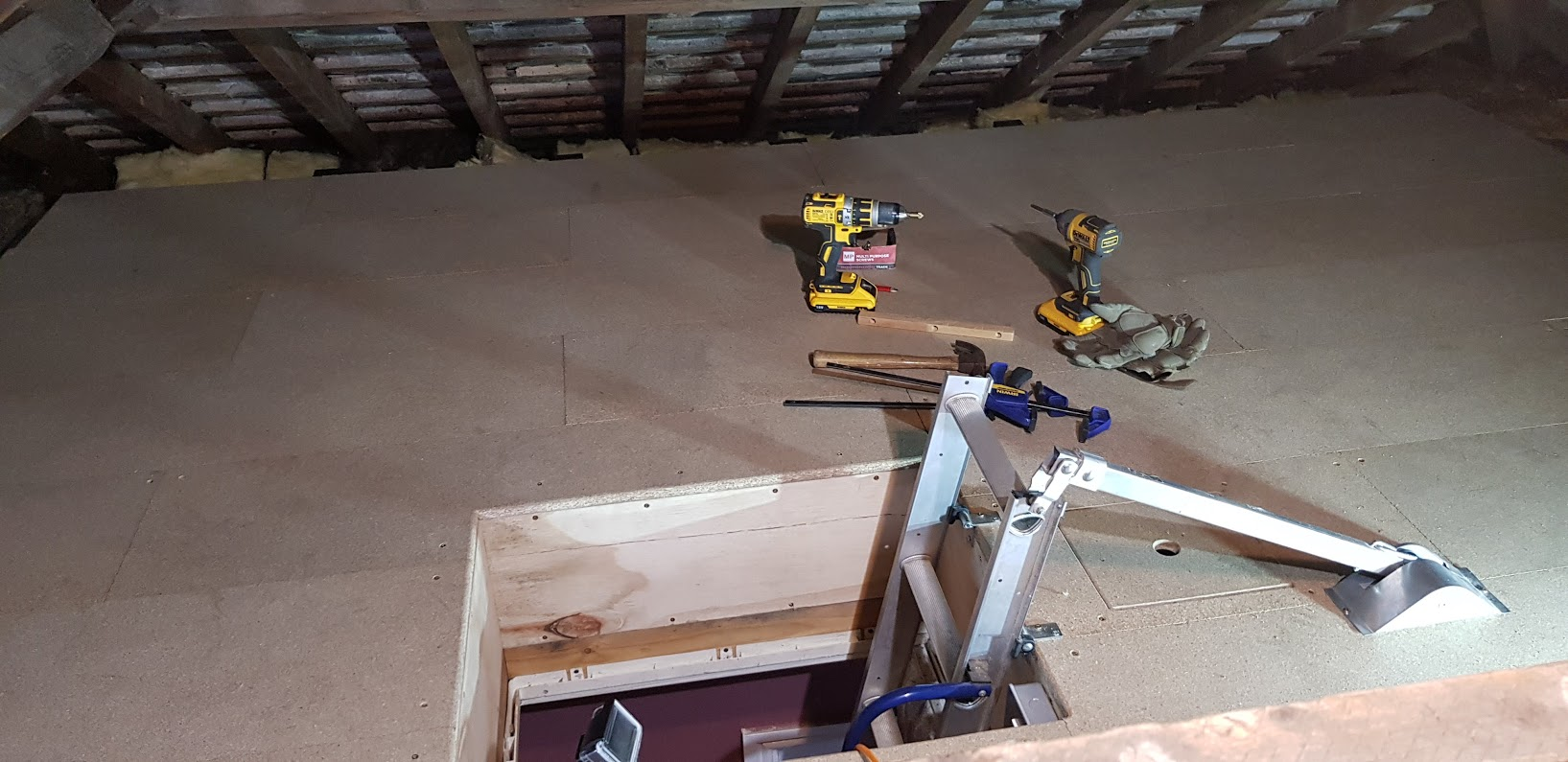 work safely in your loft