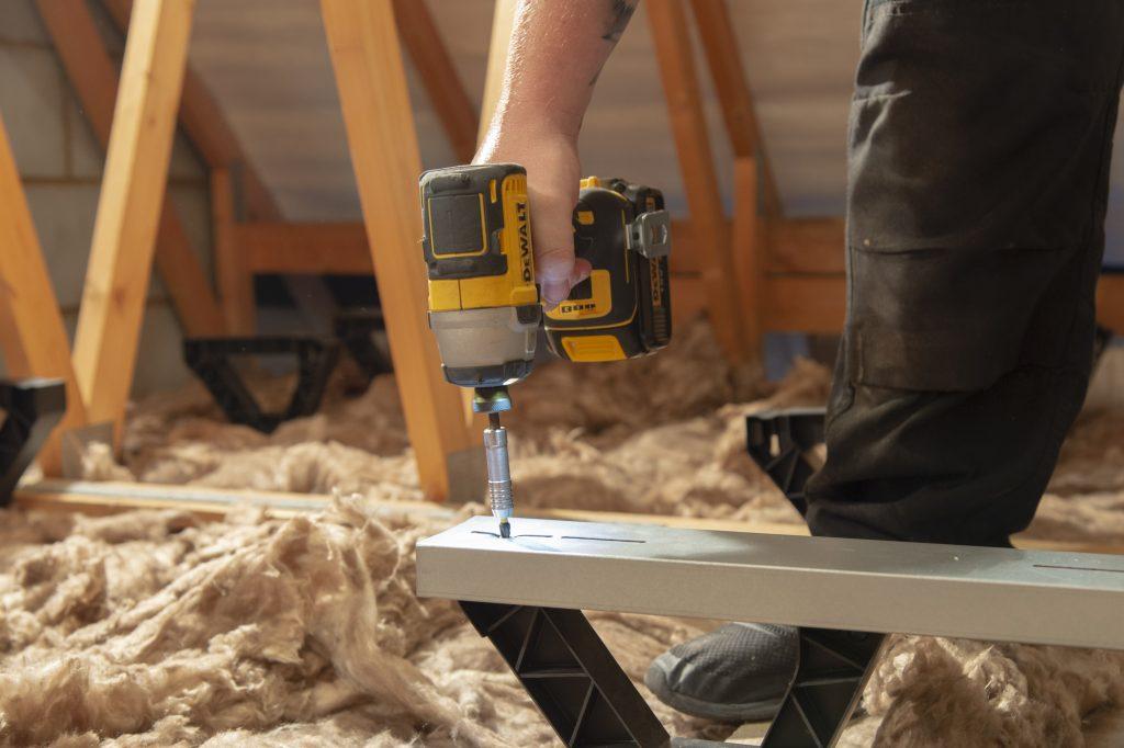 Easy to install loftboards